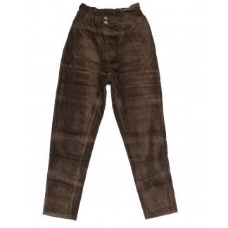 2011-4 X брюки женские вельветовые на резинке осенние стрейчевые (S-2XL, 5 ед.) X: артикул 1100146