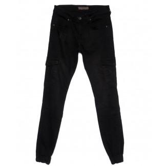 6184 Blue Nil джинсы мужские на резинке черные осенние стрейчевые (29-36, 8 ед.) Blue Nil: артикул 1100158