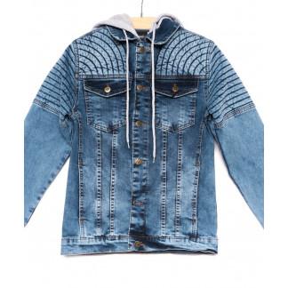 3067 Big Gastino куртка мужская джинсовая модная осенняя стрейчевая (S-XL, 5 ед.) Big Gastino: артикул 1100218
