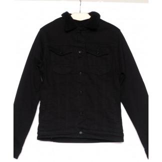 3057 Big Gastino куртка мужская джинсовая модная осенняя стрейчевая (S-XL, 5 ед.) Big Gastino: артикул 1100220