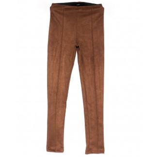 3009-3 Belli лосины замшевые коричневые осенние стрейчевые (S-XL, 4 ед.) Belli: артикул 1100252