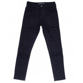5085 Fangsida джинсы на мальчика темно-синие на флисе зимние стрейчевые (24-31, 8 ед.) Fangsida: артикул 1100353