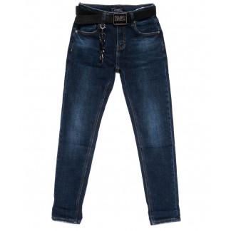 0220 Dknsel джинсы женские с поясом осенние стрейчевые (25-30, 6 ед.) Dknsel: артикул 1100449
