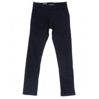 4027-X LS брюки мужские молодежные темно-синие на флисе зимние стрейчевые (27-34, 8 ед.) LS: артикул 1100589