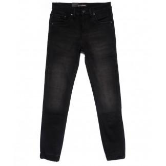 2054-A LS джинсы мужские на резинке на флисе зимние стрейчевые (30-38, 8 ед.) LS: артикул 1100614
