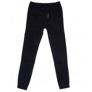 4030-A LS джинсы мужские молодежные на резинке темно-синие на флисе зимние стрейчевые (27-34, 8 ед.) LS: артикул 1100615
