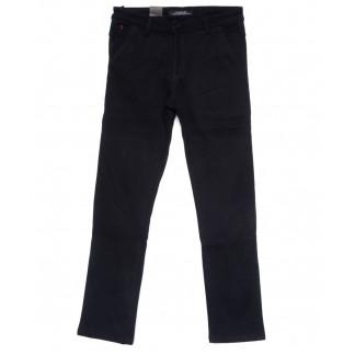 4022 LS брюки мужские полубатальные темно-синие на флисе зимние стрейчевые (32-38, 8 ед.) LS: артикул 1100617