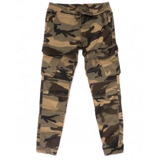 2106 Fangsida брюки мужские молодежные на резинке зимние стрейчевые (28-34, 8 ед.) Fangsida: артикул 1100733