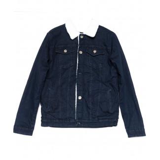 0910-2 X куртка мужская синяя осенняя стрейчевая (S-XL, 5 ед.) X: артикул 1100789