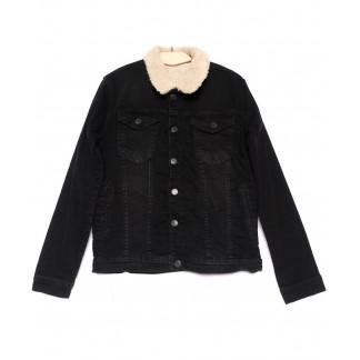 2053 X куртка мужская черная осенняя стрейчевая (S-XL, 5 ед.) X: артикул 1100790