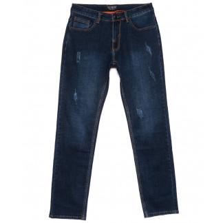 9012 Mark Walker джинсы мужские полубатальные с царапками осенние стрейчевые (32-40, 8 ед.) Mark Walker: артикул 1101030