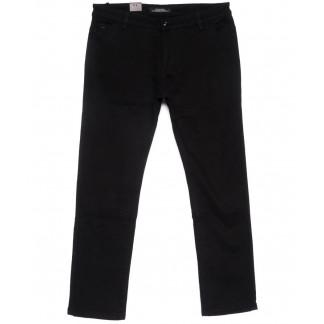 4011-D LS брюки мужские черные батальные на флисе зимние стрейчевые (34-42, 8 ед.) LS: артикул 1101063