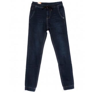 2032-A LS джинсы мужские молодежные на резинке на флисе зимние стрейчевые (28-36, 8 ед.) LS: артикул 1101071