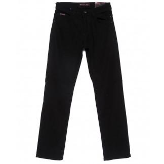 0596 Red Moon джинсы мужские полубатальные черные на флисе зимние стрейчевые (31-38, 6 ед.) Red Moon: артикул 1101092