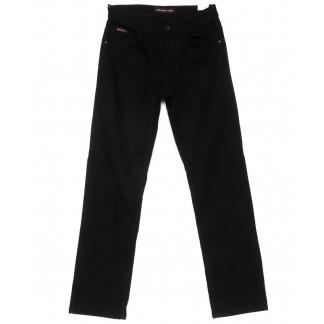 0595 Red Moon джинсы мужские полубатальные черные на флисе зимние стрейчевые (31-38, 6 ед.) Red Moon: артикул 1101093