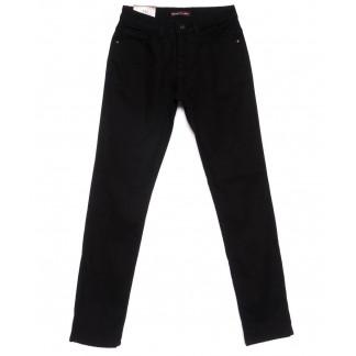 0604 Red Moon джинсы мужские черные на флисе зимние стрейчевые (29-36, 7 ед.) Red Moon: артикул 1101094