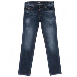 0013-21-007 Dsquared джинсы мужские полубатальные синие осенние стрейчевые (32-38, 7 ед.) Dsquared: артикул 1101404