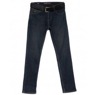 7271 Paul & Shark  джинсы мужские полубатальные синие на флисе зимние стрейчевые (32-38, 7 ед.) : артикул 1101410