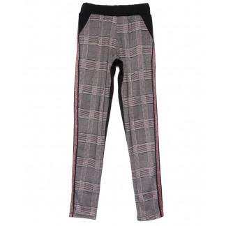 0218 X брюки женские в клетку осенние стрейчевые (42-46, 3 ед) X: артикул 1101455