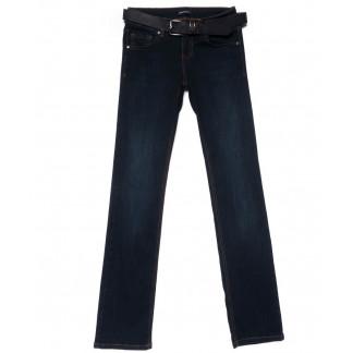 1877-590 A.N.G. джинсы женские прямые темно-синие осенние стрейчевые (26-31, 6 ед.) A.N.G.: артикул 1101524
