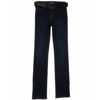 2123-670 A.N.G. джинсы женские прямые темно-синие осенние стрейчевые (26-31, 6 ед.) A.N.G.: артикул 1101534