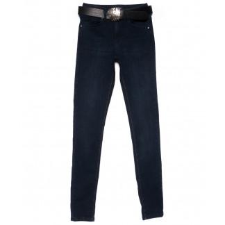 2121-670 A.N.G. джинсы женские зауженные темно-синие осенние стрейчевые (25-30, 6 ед.) A.N.G.: артикул 1101536