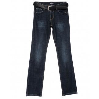 1218-B-453 A.N.G. джинсы женские полубатальные прямые синие осенние стрейчевые (28-33, 6 ед.) A.N.G.: артикул 1101541