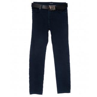2119-B-668 A.N.G. джинсы женские батальные зауженные синие осенние стрейчевые (30-36, 6 ед.) A.N.G.: артикул 1101554
