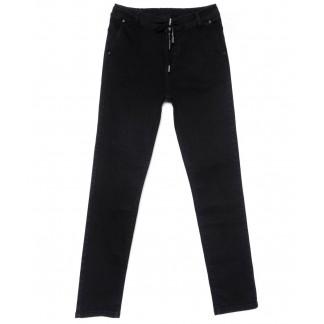 2207-B-684 A.N.G. джинсы женские батальные темно-серые зауженные осенние стрейчевые (30-36, 6 ед.) A.N.G.: артикул 1101565