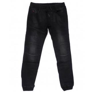 8258 Fangsida джинсы мужские молодежные темно-серые на резинке на флисе зимние стрейчевые (27-33, 8 ед.)  Fangsida: артикул 1101583