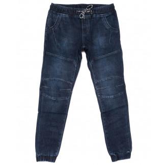 8300 Fangsida джинсы мужские молодежные синие на резинке на флисе зимние стрейчевые (28-36, 8 ед.)  Fangsida: артикул 1101585