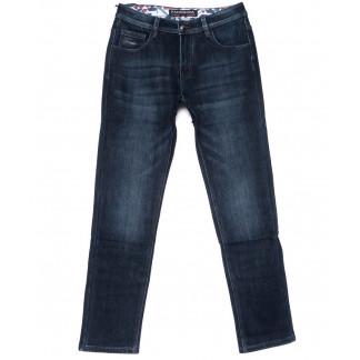 8291 Fangsida джинсы мужские полубатальные синие на флисе зимние стрейчевые (32-38, 8 ед.)  Fangsida: артикул 1101589