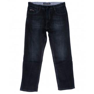3028 Fangsida джинсы мужские полубатальные синие на флисе зимние стрейчевые (32-42, 8 ед.)  Fangsida: артикул 1101591