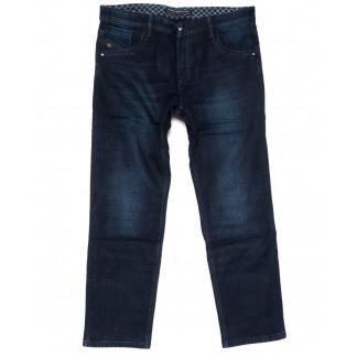 3033 Fangsida джинсы мужские полубатальные синие на флисе зимние стрейчевые (32-42, 8 ед.)  Fangsida: артикул 1101592