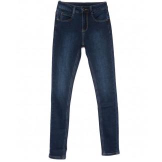 0155 (L155) Lelena джинсы женские зауженные синие на байке зимние стрейчевые (25-30, 6 ед) Lelena: артикул 1101751
