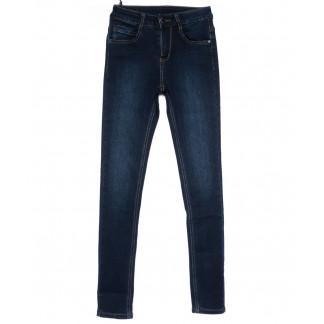 0157 (L157) Lelena джинсы женские зауженные синие на байке зимние стрейчевые (25-30, 6 ед) Lelena: артикул 1101757