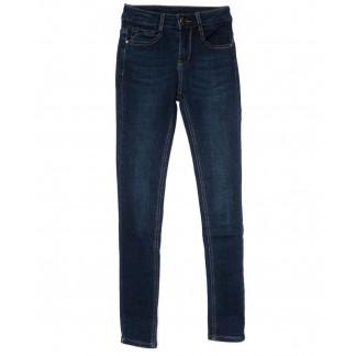 0156 (L156) Lelena джинсы женские зауженные синие на байке зимние стрейчевые (25-30, 6 ед) Lelena: артикул 1101758