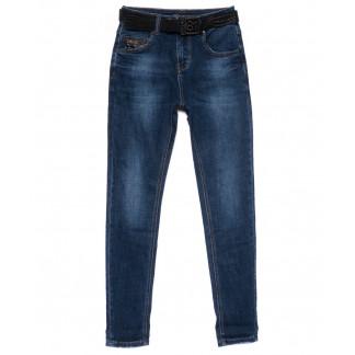 0221 (D221) Dknsel джинсы женские зауженные синие осенние стрейчевые (25-30, 6 ед) Dknsel: артикул 1101759