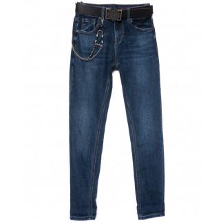 0222 (D222) Dknsel джинсы женские зауженные синие осенние стрейчевые (25-30, 6 ед) Dknsel: артикул 1101760