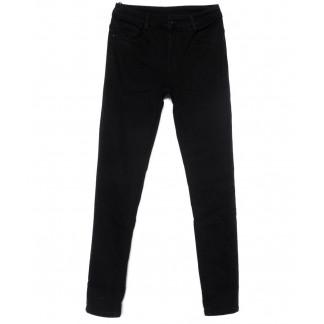 0222 (L222) Lelena джинсы женские полубатальные зауженные черные на байке зимние стрейчевые (28-33, 6 ед) Lelena: артикул 1101769