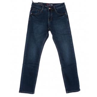 2421-2 Vimann джинсы мужские синие на байке зимние стрейчевые (30-38, 6 ед) Viman: артикул 1101777