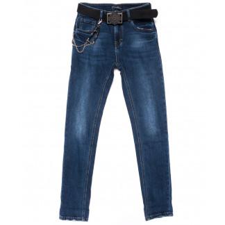0526 Dknsel джинсы женские полубатальные зауженные синие осенние стрейчевые (28-33, 6 ед) Dknsel: артикул 1101891