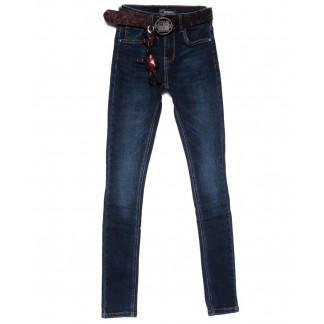 2103 Dknsel джинсы женские зауженные синие осенние стрейчевые (25-30, 6 ед) Dknsel: артикул 1101894