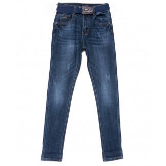 9380 LDM джинсы женские синие с царапками осенние стрейчевые (25-30, 6 ед.) LDM: артикул 1102035