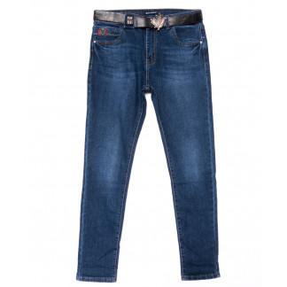 9423 LDM джинсы женские батальные синие осенние стрейчевые (30-36, 6 ед.) LDM: артикул 1102039