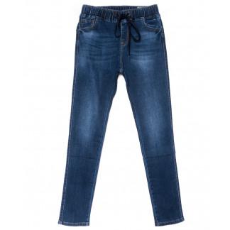 9445 LDM джинсы женские батальные синие осенние стрейчевые (31-38, 6 ед.) LDM: артикул 1102044