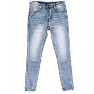 0010-01 New jeans джинсы мужские молодежные голубые весенние стрейчевые (28-36, 11 ед.) New Jeans: артикул 1102236
