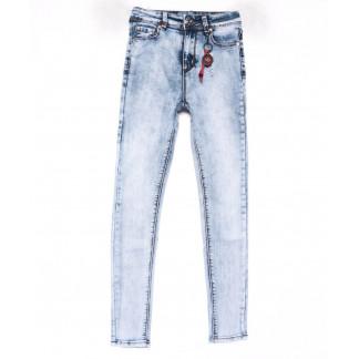 3577 New jeans американка голубая весенняя стрейчевая (25-30, 6 ед.) New Jeans: артикул 1102257