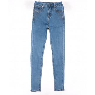 3579 New jeans американка синяя весенняя стрейчевая (25-30, 6 ед.) New Jeans: артикул 1102271