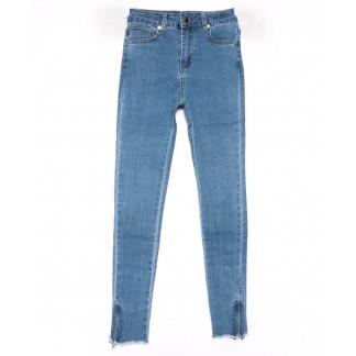 3583 New jeans американка синяя весенняя стрейчевая (25-30, 6 ед.) New Jeans: артикул 1102277